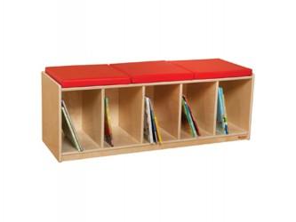 Banc de lecture avec espace de rangement de Wood Designs