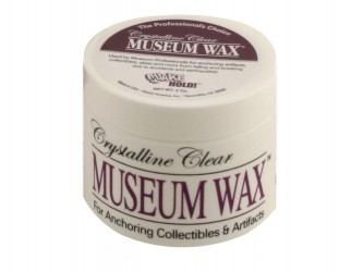 Quakehold Crystalline Clear Museum Wax