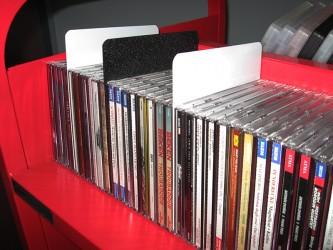 Séparateurs rigides pour CD