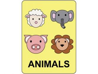 Étiquettes de classification - Animals
