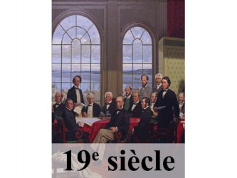 Étiquettes de classification - 19e siècle/19th Century