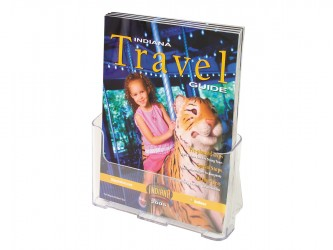 Acrylic Countertop Magazine Holder