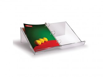 3-Ring Acrylic Binder Stand