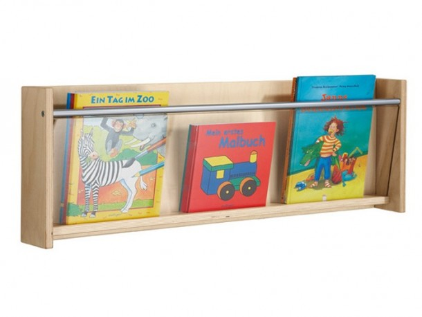 Gressco Haba Wall Mounted Book Shelf