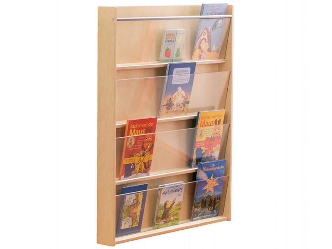 Tag re murale en bois pour livres de haba biblio rpl lt e - Etagere murale pour livre ...