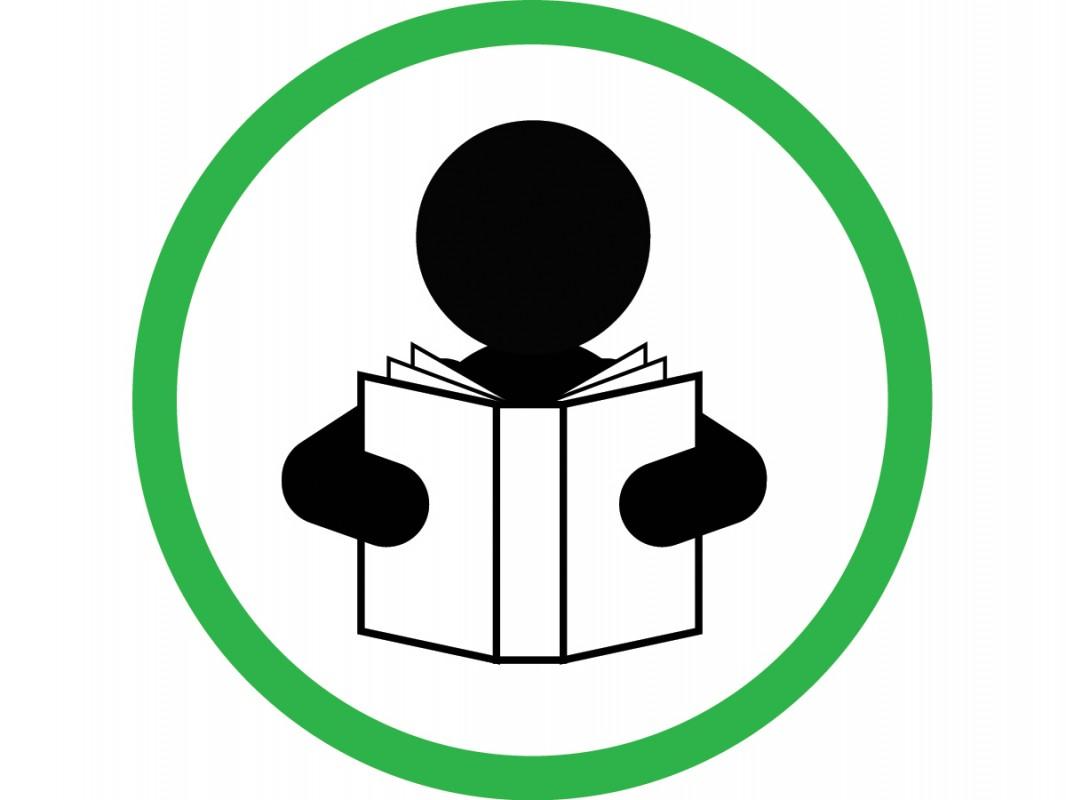 Self Adhesive Vinyl Sign Encourage Reading Biblio Rpl Lt 233 E