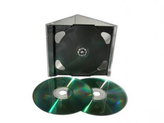 Double Allsop Strongbox CD Case