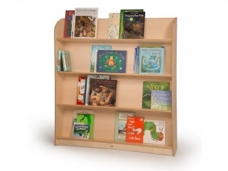 Whitney Brothers Single Sided Library Shelving