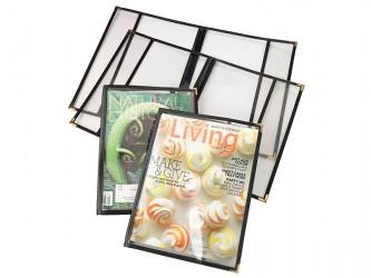 Protecteur économique en vinyle pour magazines