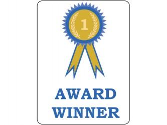 Étiquettes de classification - Lauréat d'un prix/Award Winner