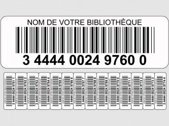 Codes à barres personnalisés