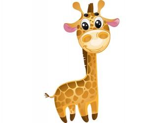 Mascotte Girafe en vinyle