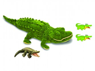 Ensemble complet de mascotte - Les alligators