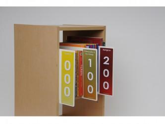Dewey Shelf Markers Set