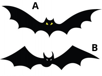 Halloween Vinyl Wall Decals - Bat