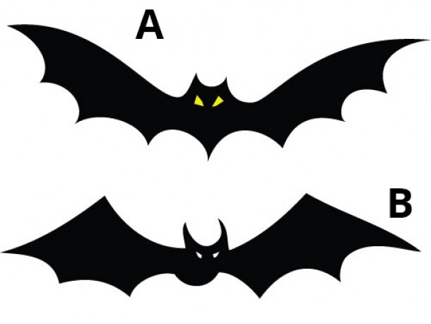 Halloween Vinyl Wall Decals   Bat