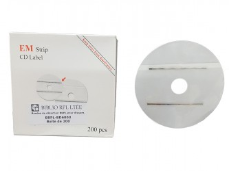Bandes de détection BRPL pour disques