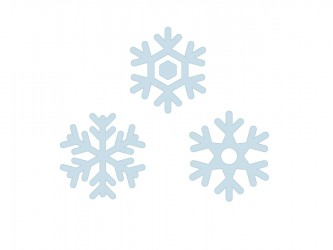 Christmas Vinyl Wall Decals - Snowflakes