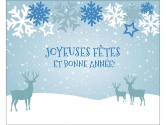 """Joyeuses fêtes"" Biblio RPL Greeting Cards"
