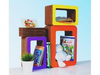 Bookbüddii Bookcase To Draw - Small