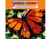 Mosaïque interactive à autocollants StickTogether - Papillon