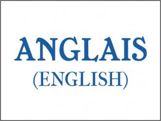 Étiquettes de classification - Anglais