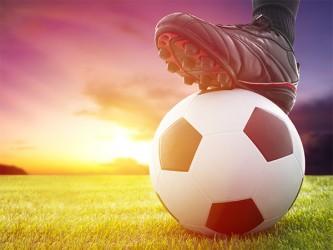 Affiche en vinyle autocollant - Le soccer