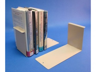 Metal Bookend with extended base