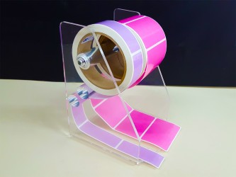Acrylic Label Dispenser