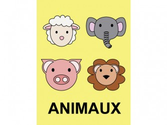 Étiquettes de classification - Animaux
