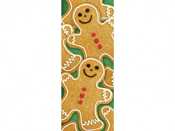 Gingerbread Scratch-and-sniff Bookmarks