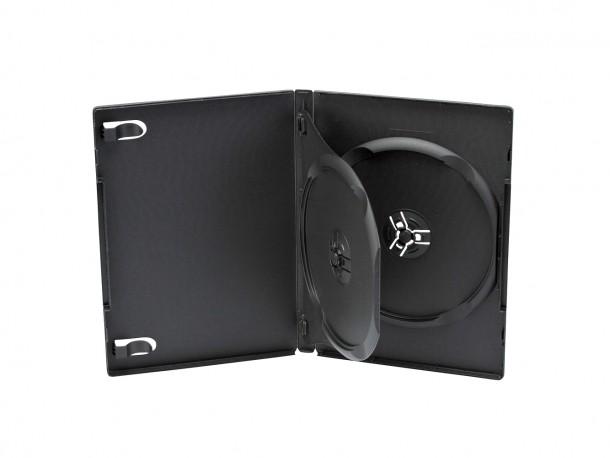 Boîtier DVD double avec intercalaire