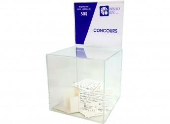 Boîte à tirage en acrylique