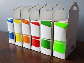 """Étiquettes de couleur - 3/4"""" x 1"""""""