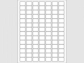 """Étiquettes de cotes - 1""""L x 3/4""""H"""