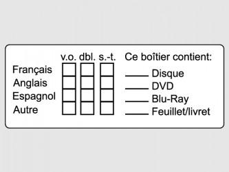 Étiquettes d'identification pour documents audiovisuels