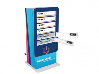 Casier de rechargement KwikBoost à 6 cases