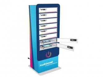 Casier de rechargement KwikBoost à 8 cases