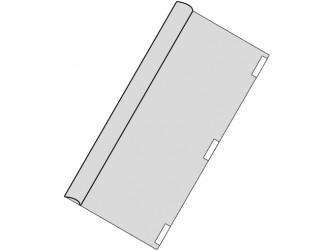 Couvre-jaquette sans dos de papier
