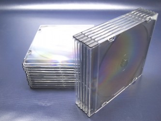Thin Single CD Case