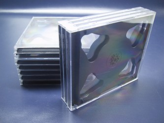 Thin Double CD Case