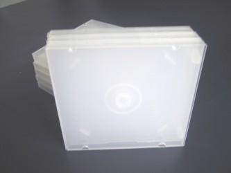 Boîtier CD simple en polypropylène