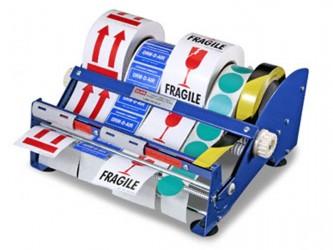Distributeur de rubans et d'étiquettes