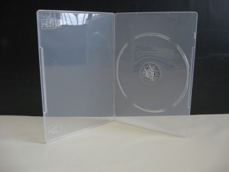 Single Thin DVD Case