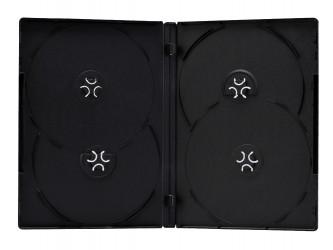 Boîtier DVD quadruple mince
