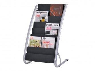 Présentoir de sol pour magazines