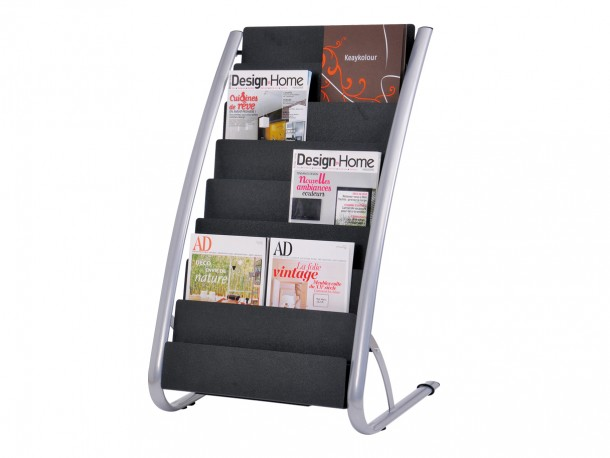 pr sentoir de sol pour magazines biblio rpl lt e. Black Bedroom Furniture Sets. Home Design Ideas