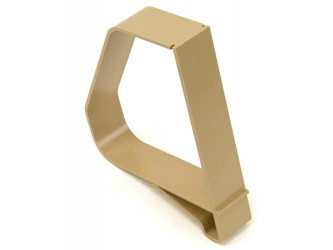 Clip-On Bookend for shelves