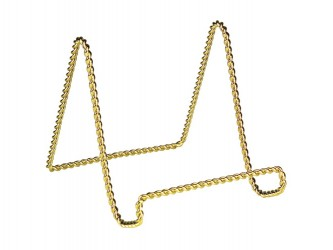 Decorative Brass Display Easel