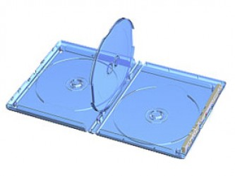 Quadruple Blu-Ray Case